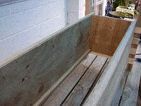 Boot Bench : Making the Boot Box Frame 8