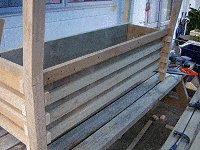 Boot Bench : Making the Boot Box Frame 9