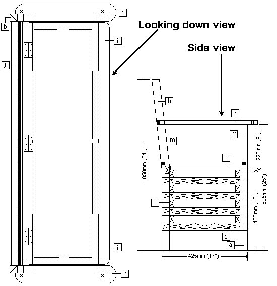boot bench plans a