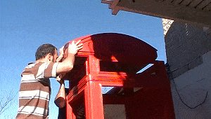 K2 Telephone Booth Assemble 4