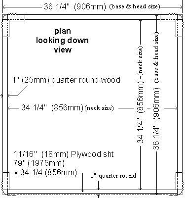 K2 Telephone Booth Body Plan 2