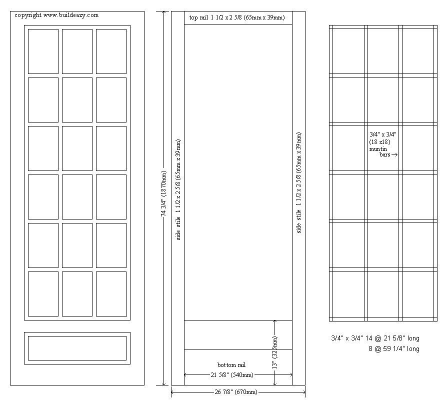 K2 Telephone Booth Plans Door