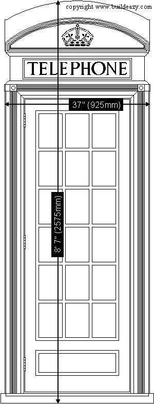 K2 Telephone Booth Plans k2