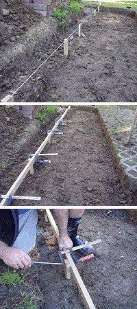 Brick Pathway : Preparing the Ground 2
