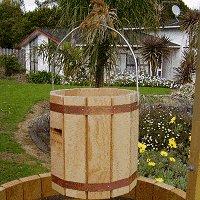 Decorative Wooden Bucket : Final