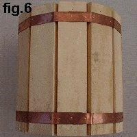 Decorative Wooden Bucket : Form a Circle