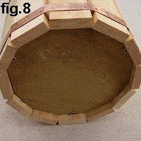 Decorative Wooden Bucket : Fit the Base