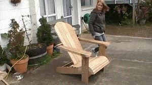 Cape Cod aka Adirondack Chair : Finished