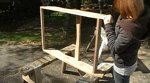 Adirondack Chair : Fix the Rear Spacer