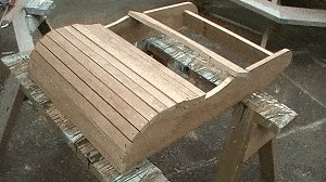 Adirondack Chair : Fix some of the Seat Slats