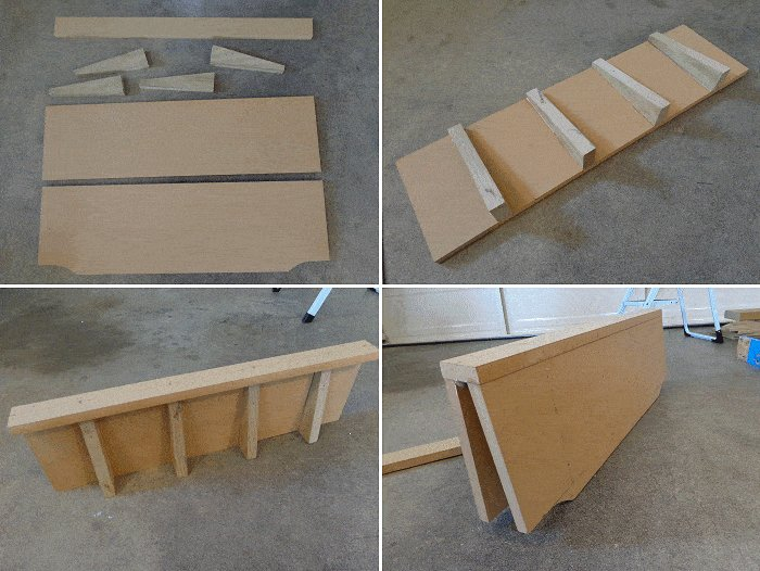 Kid's Racing Car Bed : Back and Front