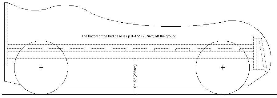 Kid's Racing Car Bed Plan Body 4