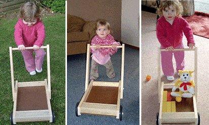 Child Pushcart Picture