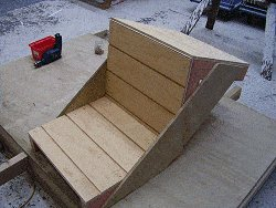 Concrete Chair : Attach the Front to the Form