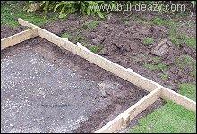 Playhouse Plans : Concrete Floor Footing