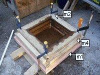 Concrete Post Cap Plans : Clamp