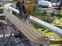 Concrete Post Cap Plans : Miter Cut
