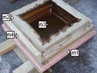 Concrete Post Cap Plans : Leveling the Mold