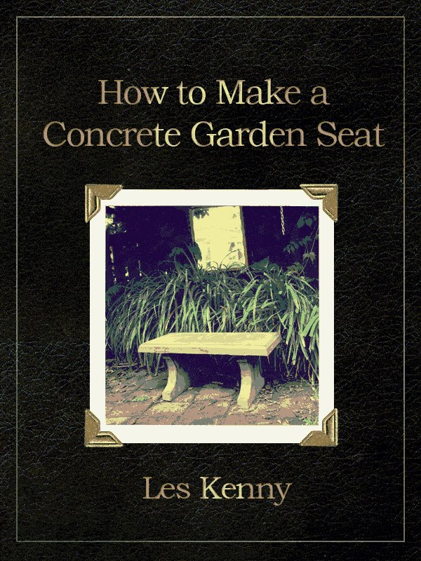 How to Make a Concrete Garden Seat : Introduction