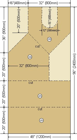 Dog House Plans - Imperial and Metric Version