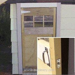 Playhouse Plans : Door Frame Installed