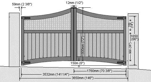 double gate plan