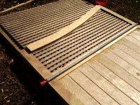 Driveway Gates Plans : Inserting the Lattice