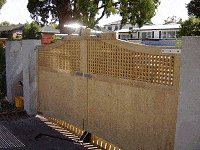 Driveway Gates Plans : Preparing for the Gate Fittings