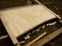 Driveway Gates Plans : Cutting the T&G Boards