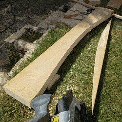 Extendable Picnic Table : Cut the Curve