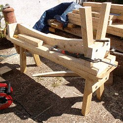 Extendable Picnic Table : Make Up the Second Bench Seat