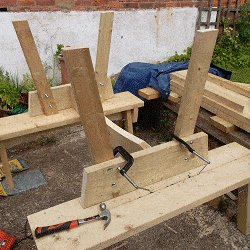 Extendable Picnic Table : Make the Table Frame
