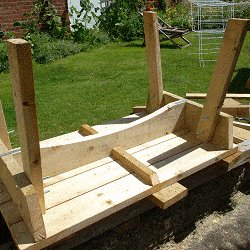 Extendable Picnic Table : Strenghten the Table Top
