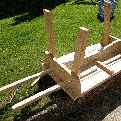 Extendable Picnic Table : Trial the Extension Runner