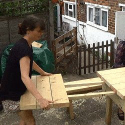 Extendable Picnic Table : Try for Size