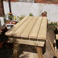 expandable picnic table small 13