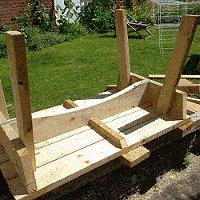 expandable picnic table small 14