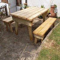 expandable picnic table small 15