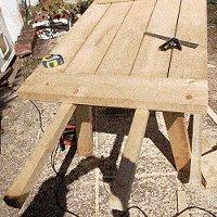 expandable picnic table small 17