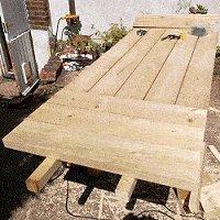 expandable picnic table small 18
