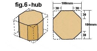 Gazebo Plan : Hub - Metric Version