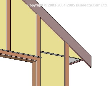 Shell Only Single Garage : Dummy Rafter