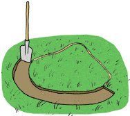 Garden Pond : Digging