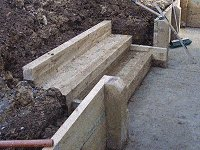 Garden Steps : Make and Fit the Top Riser