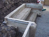 Garden Steps : Complete the Sides of the Steps