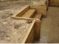 Garden Steps : Back-Fill the Steps