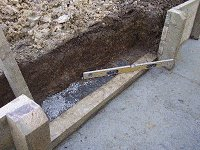 Garden Steps : Prepare the Ground for the First Tread