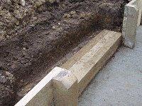 Garden Steps : Prepare the Ground Behind the Tread