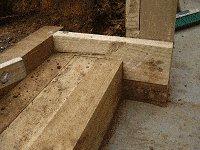 Garden Steps : Cut and Fit the Side Boards