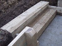 Garden Steps : Fit the Second Tread